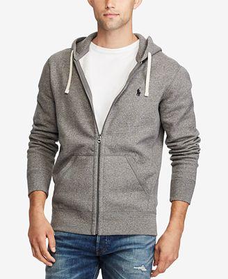 Polo Ralph Lauren Mens Hoodie Core Full Zip Hooded Fleece