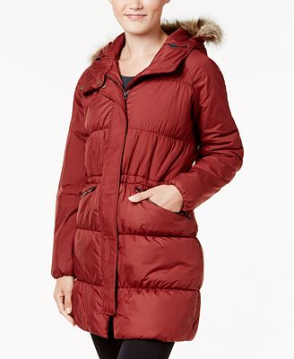 Columbia Sparks Lake Faux-Fur-Trim Thermal Coil Puffer Parka ...
