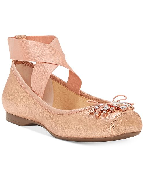 efe7172e5979 Jessica Simpson Miaha Embellished Ballet Flats   Reviews - Flats ...