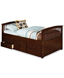 Graden Kid's Twin Captain Bed, Quick Ship