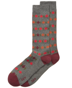 Bar Iii Men's Leaf Socks,...