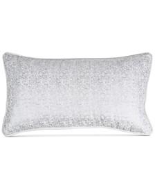 "Motion Metallic Velvet 11"" x 22"" Decorative Pillow"