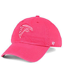 '47 Brand Women's Atlanta Falcons Pastel CLEAN UP Cap