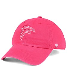 47 Brand Women s Atlanta Falcons Pastel CLEAN UP Cap.   a974e7096