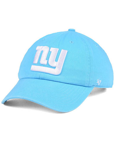 '47 Brand Women's New York Giants Pastel CLEAN UP Cap