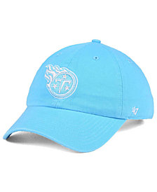 '47 Brand Women's Tennessee Titans Pastel CLEAN UP Cap