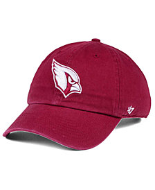 '47 Brand Arizona Cardinals Cardinal CLEAN UP Cap