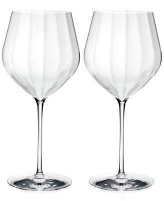 Waterford Optic Cabernet Sauvignon Glass Pair