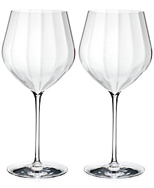 Waterford Elegance Optic Cabernet Sauvignon Glasses, Set Of 2