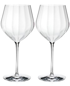 Waterford Elegance Optic Cabernet Sauvignon Glass Pair