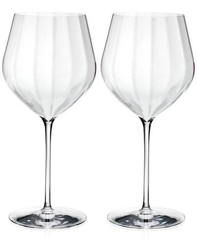Waterford Elegance Optic Cabernet Sauvignon Glasses, Set Of 2