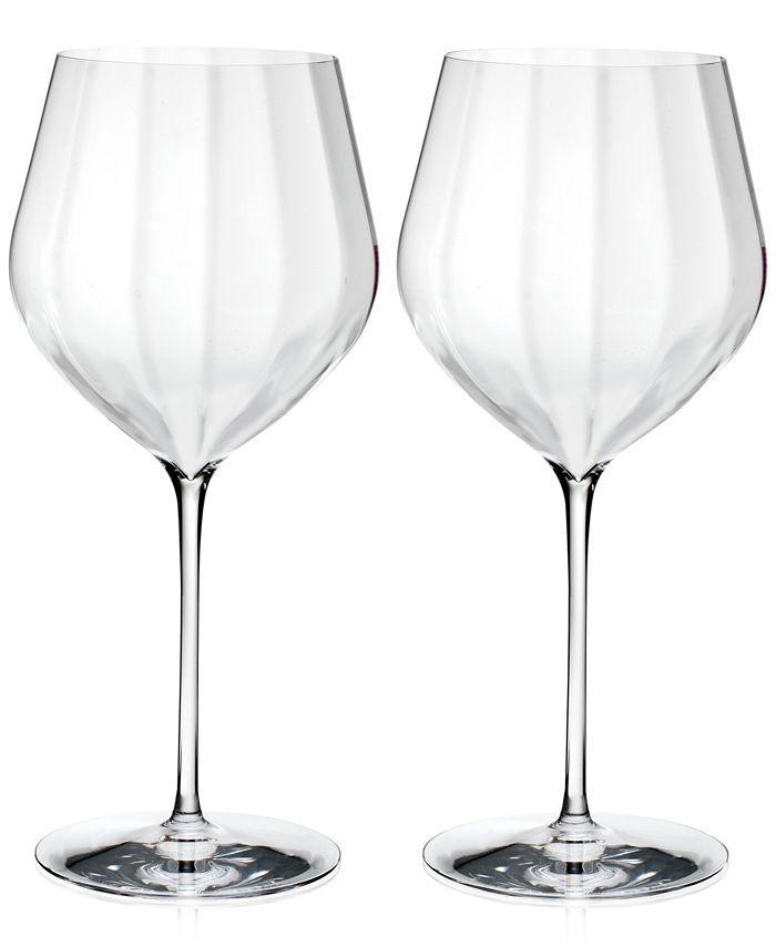 Waterford - Optic 2-Pc. Cabernet Sauvignon Glass Set