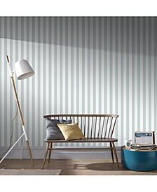 Helen Glitter Stripe Wallpaper
