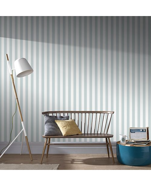Helen Glitter Stripe Wallpaper