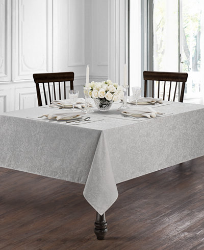 Waterford Peony Platinum Table Linens Collection
