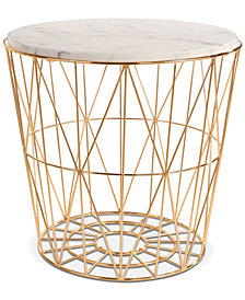 Renee End Table, Quick Ship
