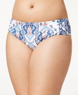ETC Plus Size Naples Bikini Bottoms