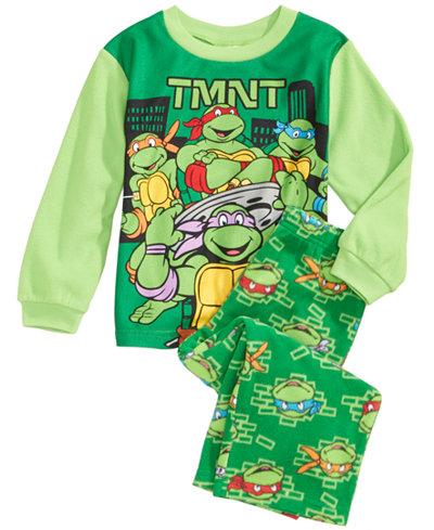 Age Mutant Ninja Turtles 2 Pc Pajama Set Toddler Boys