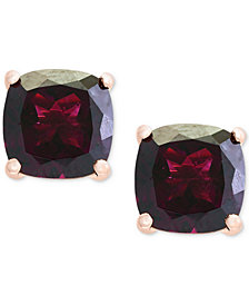 Bordeaux by EFFY® Rhodolite Stud Earrings (5-7/8 ct. t.w.) in 14k Rose Gold