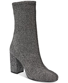 Kenneth Cole New York Women's Alyssa Block-Heel Booties