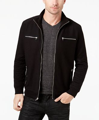 INC International Concepts Men's Quilted Bomber Jacket, Created ...
