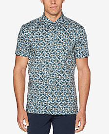 Perry Ellis Men's Abstract Floral Shirt