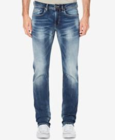 Buffalo David Bitton Men's Evan-X Slim Straight Fit Stretch Jeans