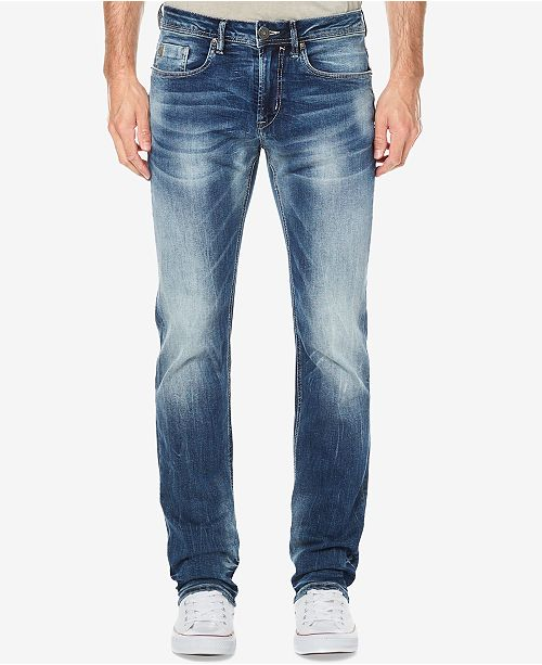 Buffalo David Bitton Men's Slim Straight Fit Evan-X Stretch Jeans