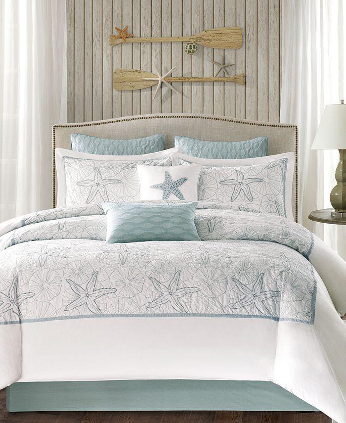 Harbor House - Maya Bay 200-Thread Count 4-Pc. Queen Comforter Set