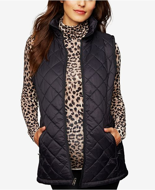 650a723a585ed A Pea in the Pod Maternity Quilted Puffer Vest & Reviews - Maternity ...