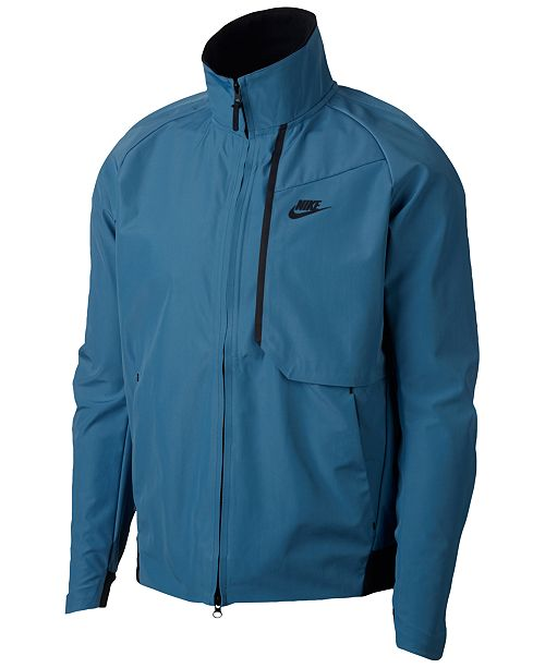 15a632a4d6c0 Nike Men s Sportswear Tech Shield Water-Resistant Jacket. This product is  currently unavailable