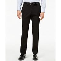 Kenneth Cole Reaction Men's Slim-Fit Stretch Gabardine Dress Pant