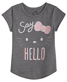 Hello Kitty Toddler Girls Say Hello Cotton T-Shirt