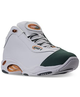 AND1 Men's Tai Chi Mid Leather Basketball Sneakers from Finish Line