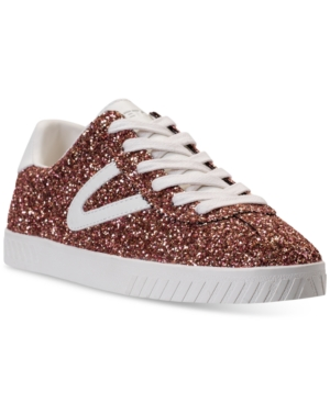 Women'S Camden 5 Glitter Casual Sneakers From Finish Line in Pink MultiWhite