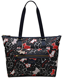 Radley London Speckle Dog Large Workbag Tote
