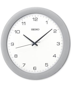 Seiko Silver-Tone Wall Clock