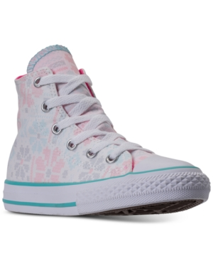 Converse Little Girls Chuck Taylor All Star High Top Casual Sneakers from Finish Line