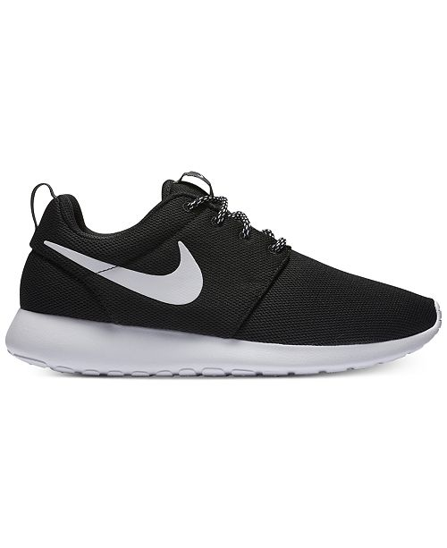 new styles bd9e9 ce45f Women's Roshe One Casual Sneakers from Finish Line
