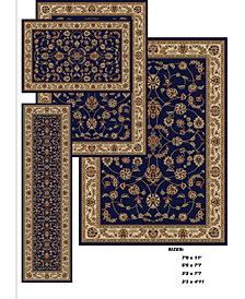 KM Home Florence Isfahan 4-Pc. Rug Set
