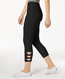 Style & Co Twisted Cutout Leggings, Created for Macy's
