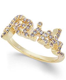Joan Boyce Crystal Faith Ring