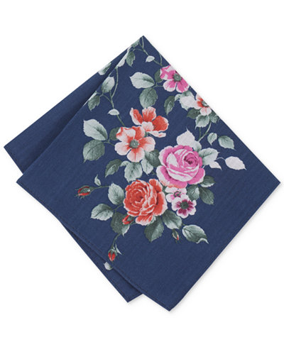 Bar III Men's Para Floral Pocket Square, Created for Macy's