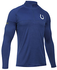 Under Armour Men's Indianapolis Colts Twist Tech Quarter-Zip Pullover