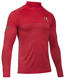 Under Armour Men's Tampa Bay Buccaneers Twist Tech Quarter-Zip Pullover
