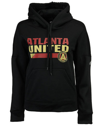 adidas Women's Atlanta United FC Bottom Bar Slant Hoodie