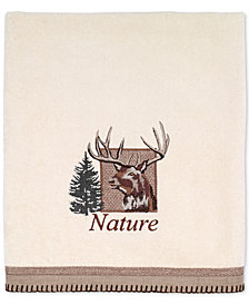 Avanti Nature Walk Cotton Embroidered Bath Towel