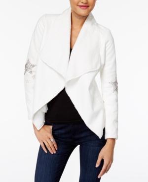 Xoxo Juniors Star Embellished Jacket