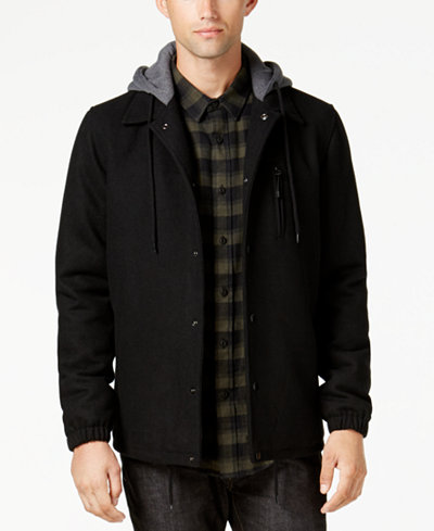 American Rag Men's Coaches Jacket, Created for Macy's
