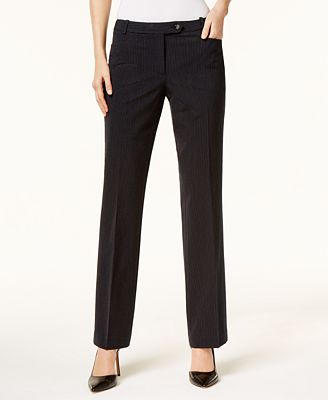 Calvin Klein Pinstripe Dress Pants Pants Women Macy S